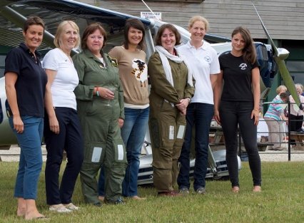Ladies on pilots day (426x313)